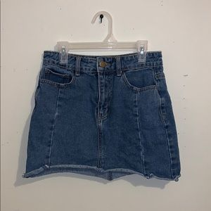 Forver 21 Mini Jean Skirt